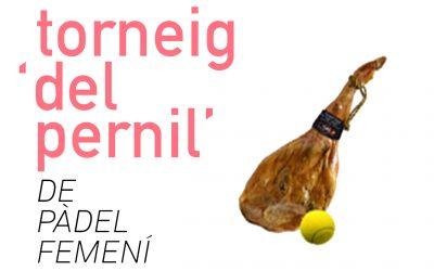 Torneig Pàdel Pernil Femení 2020