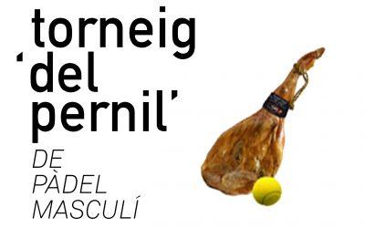 Torneig Pàdel Pernil Masculí 2020