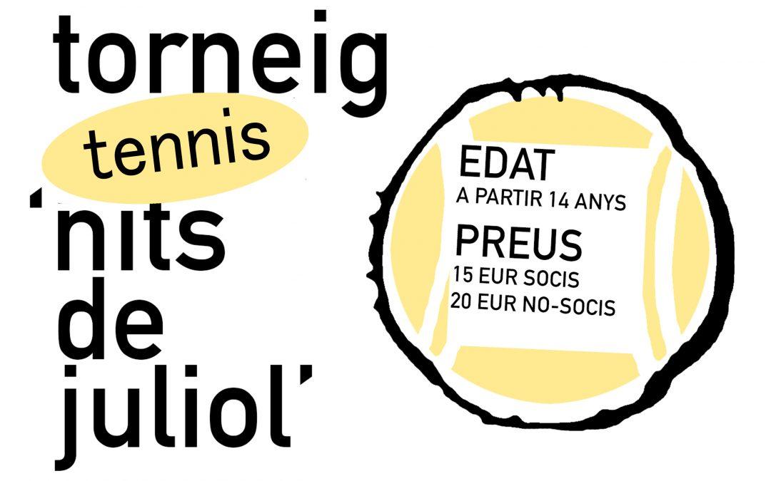 "Torneig Tennis ""Nits de Juliol"""