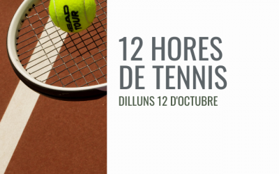 12 HORES DE TENNIS