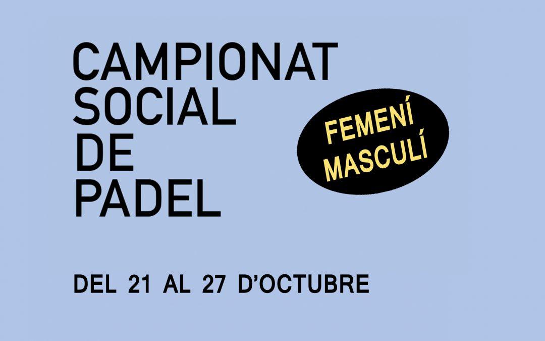 SOCIAL FEMENÍ I MASCULI